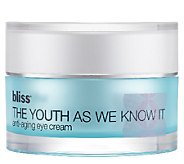 bliss The Youth As We Know It Eye Cream - A242512