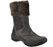 BareTraps Suede Water Repellant Boots w/ Faur Fur Trim - Ragini - A273212
