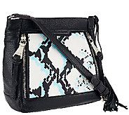 As Is Aimee Kestenberg Pebble Leather Crossbody - Bryon - A274212