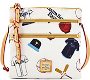 Dooney & Bourke MLB Rays Triple Zip Crossbody - A280012
