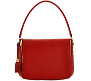 As Is G.I.L.I with HALOGUARD Leather Zip Front RFID Handbag - A280512