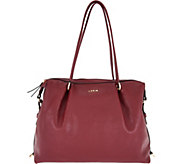 LODIS Leather All-In-One Convertible Handbag w/ RFID - A283612