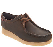 Clarks Leather or Suede Lace-up Shoes - Padmora - A300612