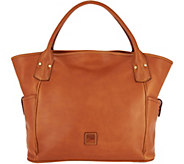 As Is Dooney & Bourke Florentine Leather Kirsten Tote - A304612