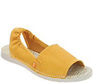 Softinos by FLY London Leather Slip-on Sandals - Tee - A305112
