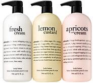 philosophy super-size luxury sweet cream lotion trio - A311112