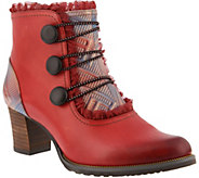 LArtiste by Spring Step Leather Booties- Conchita - A360112