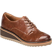 Sofft Lace Up Leather Oxfords - Salerno - A360712