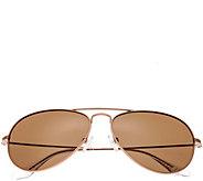 Bertha Brooke Rosetone Sunglasses w/ PolarizedLenses - A361212
