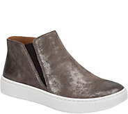 Sofft Slip-On High-Top Leather Sneakers - Britton - A361612