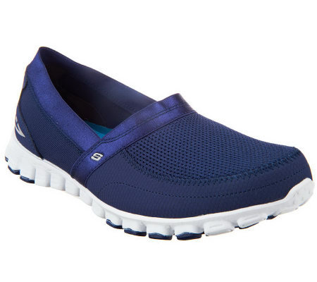 skechers flex memory foam lightweight slip on shoes w