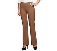 Women with Control Regular Seamed Waist Boot Cut Pants - A238313