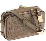 G.I.L.I. Hornback Croco Leather Micro Bag -iPhone 5 - A259713