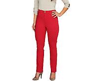 Liz Claiborne New York Jackie Colored Slim Leg Jeans - A261913