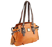 As Is Dooney & Bourke Toledo Leather Winged Tote - A262113