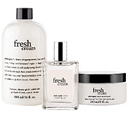 philosophy fresh cream layering trio - A262613