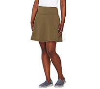 Women with Control Petite Tummy Control Skort with Pockets - A263913