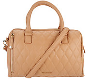 Vera Bradley Quilted Leather Satchel -Marlo - A278113