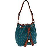 As Is Dooney & Bourke Gretta Kendall Drawstring Bag - A278913