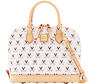 Dooney & Bourke NCAA University of Virginia Zip Zip Satchel - A283213