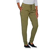 As Is Cuddl Duds Comfortwear Stretch Lounge Slim Pant - A288213