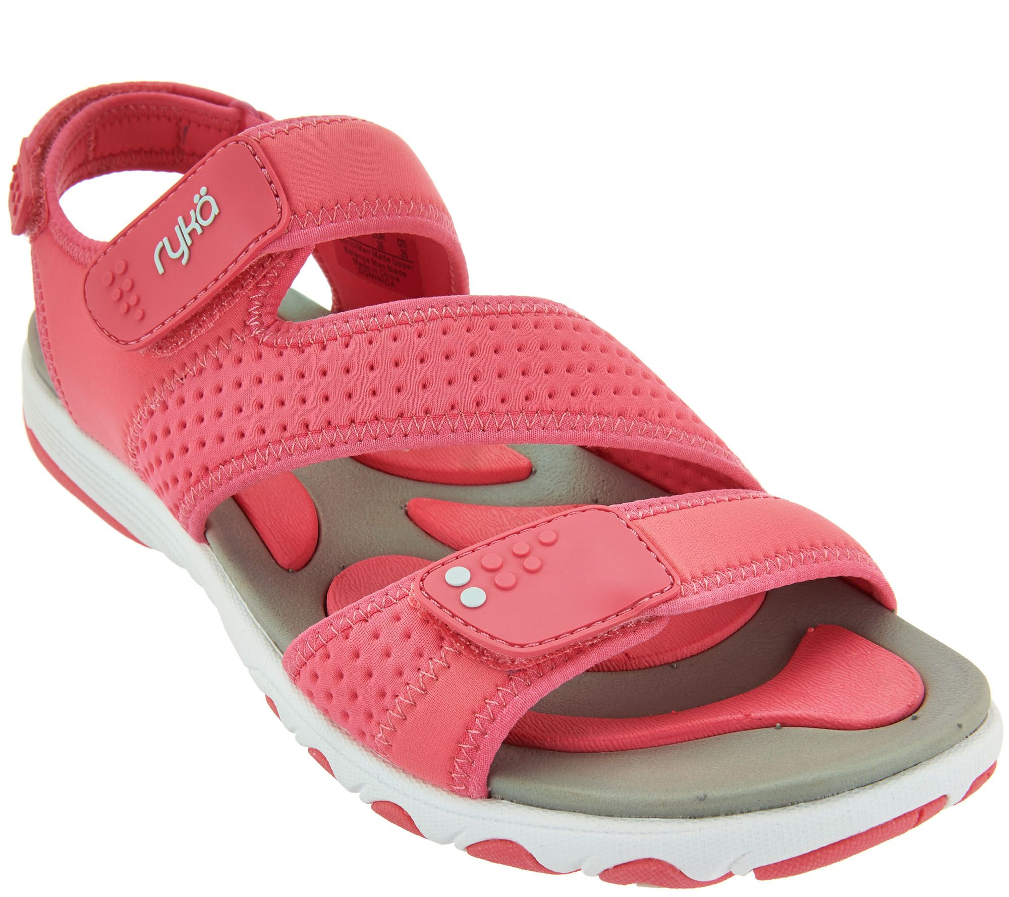 Ryka sandals shoes - Ryka Neoprene Adjustable Sport Sandals Dominica A288613