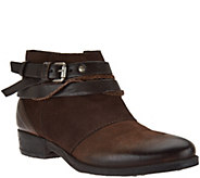 As Is Miz Mooz Leather Ankle Boots - Danita - A290713