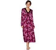 Carole Hochman Midnight Fleur Rayon Spandex Long Gown - A293913