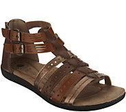 Earth Origins Leather Gladiator Sandals - Harlin - A304213