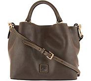 As Is Dooney & Bourke Florentine Small Brenna Satchel Handbag - A304613