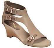 A2 by Aerosoles Heel Rest Wedge Sandals - Zenfandel - A339313