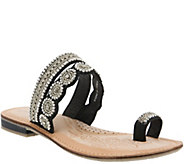 Azura by Spring Step Leather Slide Sandals -Finka - A339713