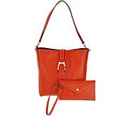 As Is Dooney & Bourke Saffiano Leather Shoulder Bag - A344013