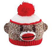 San Diego Hat Co. Kids Sock Monkey Beanie - A204514