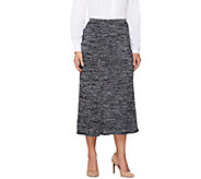 Linea by Louis DellOlio Pull-On Knit Skirt - A257314