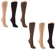 Legacy Set of 6 Signature Trouser Socks - A258114