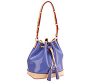 Dooney & Bourke Claremont Patent Drawstring Handbag - A263114