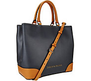 As Is Dooney & Bourke Embossed Pebble Leather Shopper - A278914