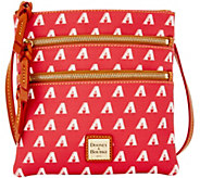 Dooney & Bourke MLB Diamondbacks Triple Zip Crossbody - A280014