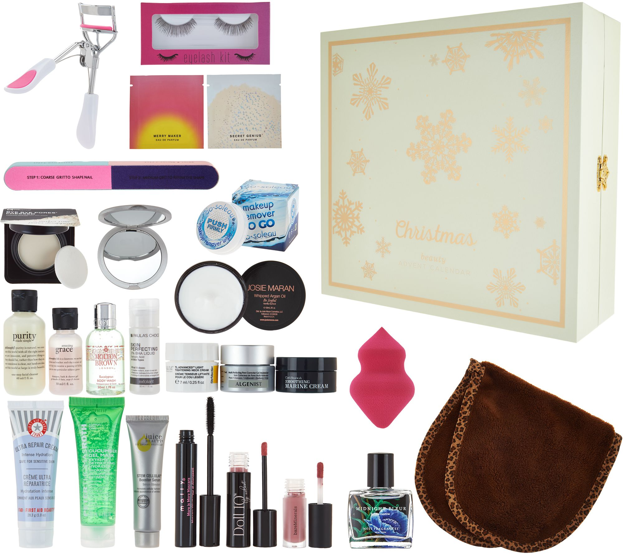 QVC Beauty Christmas Advent Calendar 24-pc Kit - Page 1 — QVC.com