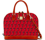 Dooney & Bourke NCAA Texas Tech University Zip Zip Satchel - A283214