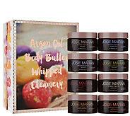 Josie Maran 8pc Whipped Argan Oil Body Butter Creamery - A285214