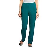 Susan Graver Essentials Lustra Knit Regular Skinny Pants - A285514