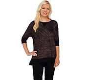 As Is Dolman Sleeve Sweater Knit Top Lisa Rinna Collection - A288414