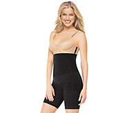 As Is Assets Red Hot Label by Spanx High Waist Mid-Thigh Shaper - A290314