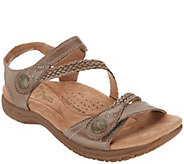 Earth Origins Leather Adjustable Sandals - Salina - A304714