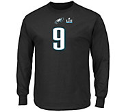 NFL Super Bowl LII Foles T-Shirt Choice of Mens or Womens - A310914