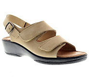 Flexus by Spring Step Gracious Leather Slingback Sandals - A332014