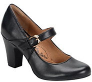 Sofft Leather Mary Jane Pumps - Miranda - A355514