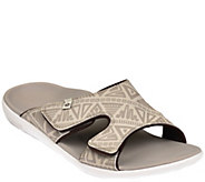 Spenco Mens Adjustable Slide Sandals - Tribal - A355914